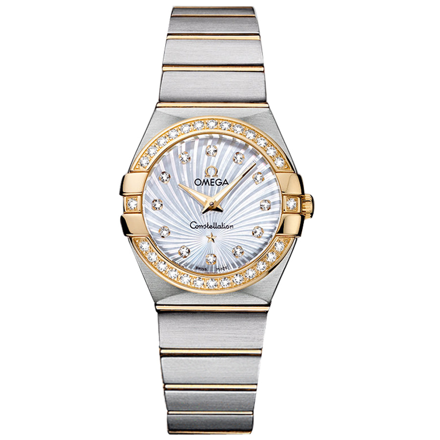 123.25.27.60.55.004 Copy Omega Watches Constellation Ladies Quartz watch [b544]