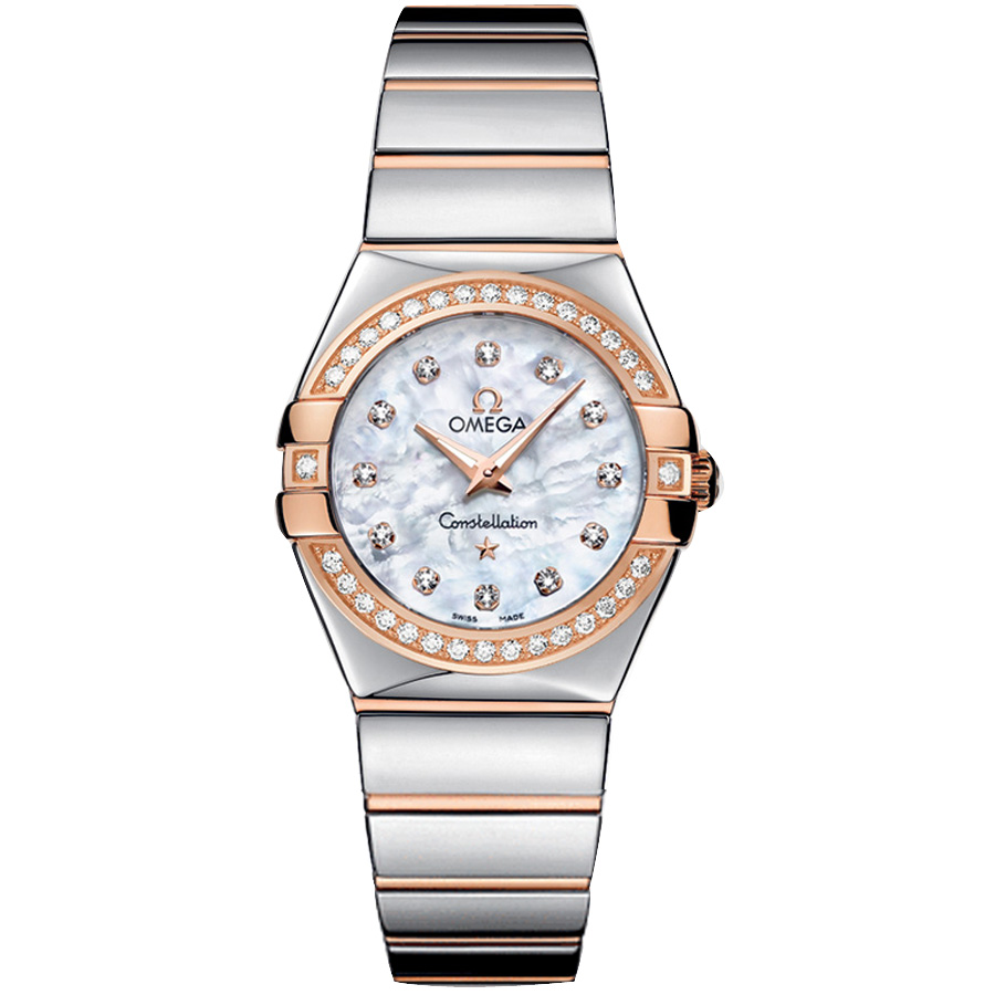 123.25.27.60.55.005 Copy Omega Watches Constellation Ladies Quartz watch [0840]