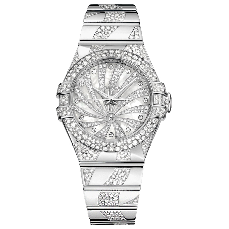 123.55.31.20.55.009 Copy Omega Watches Constellation Ladies Watch Automatic mechanical [259e]