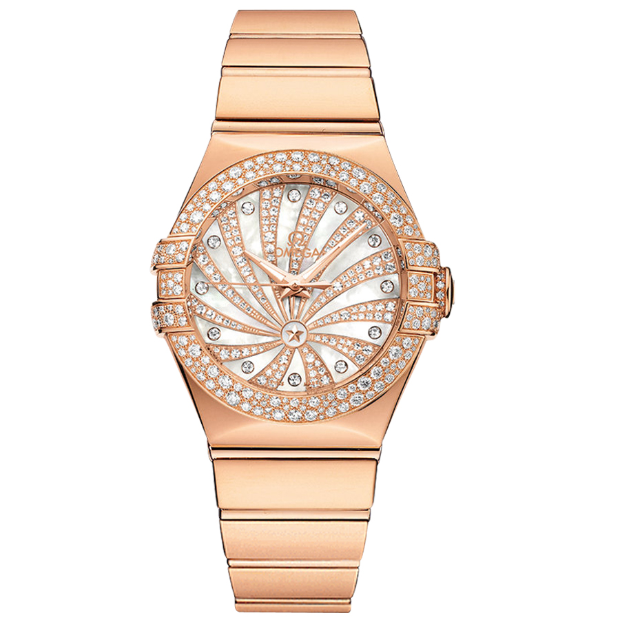 123.55.31.20.55.010 Copy Omega Watches Constellation Ladies Watch Automatic mechanical [e101]