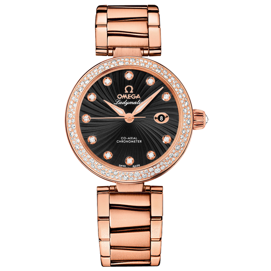 Omega Watches Copy De Ville Ladymatic 425.65.34.20.51.001 Ladies automatic mechanical watches [592b]