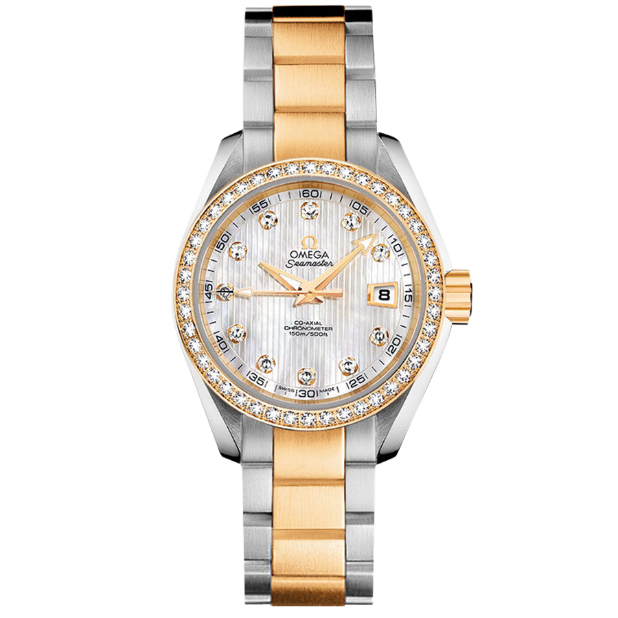 Omega Watches Copy Seamaster 231.25.30.20.55.002 Ladies quartz mechanical watches [4cbd]