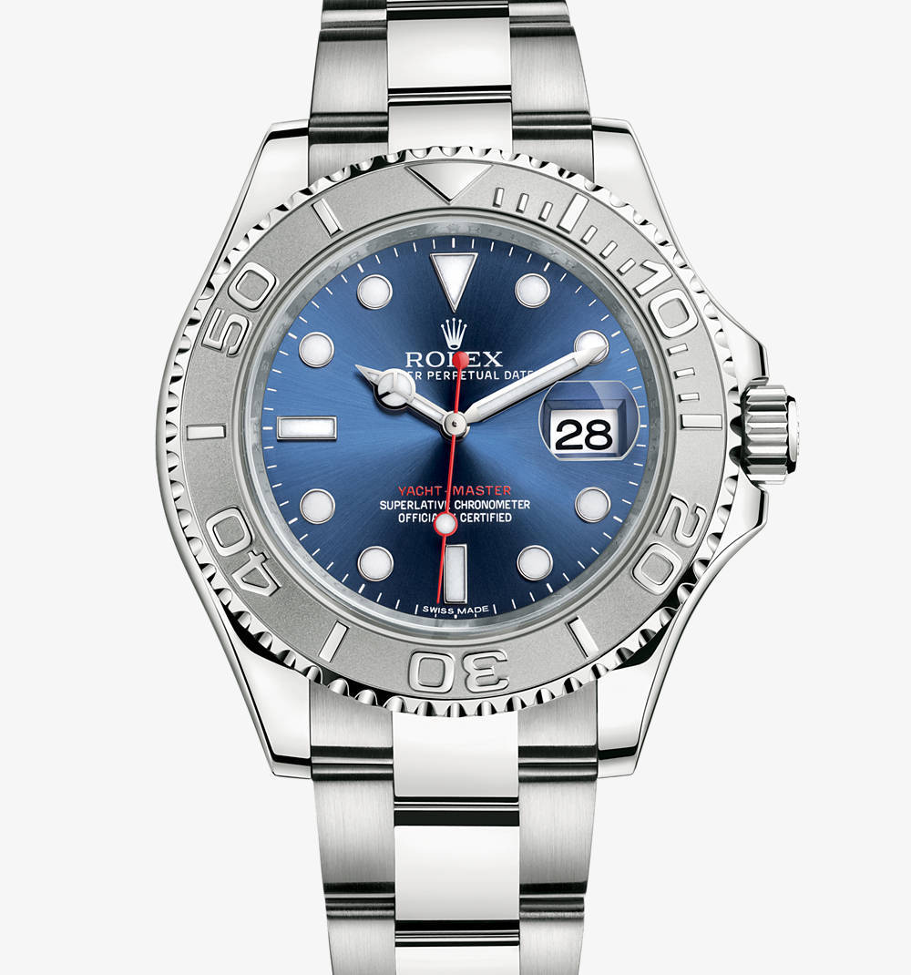 Replica Rolex Yacht-Master Watch: Rolesium - combination of 904L steel and platinum – M116622-0001 [0c0a]