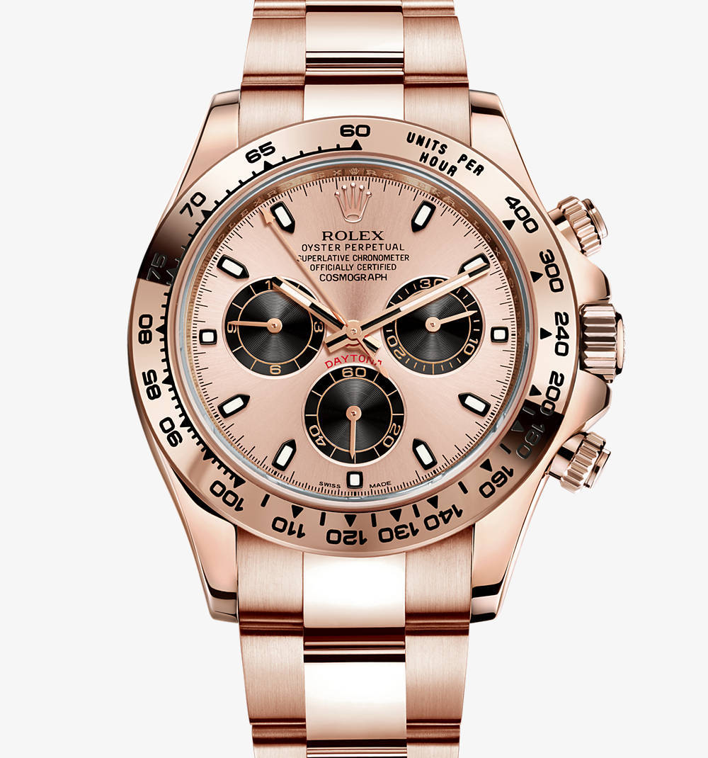 Replica Rolex Cosmograph Daytona Watch: 18 ct Everose guld - M116505-0001 [79f1]
