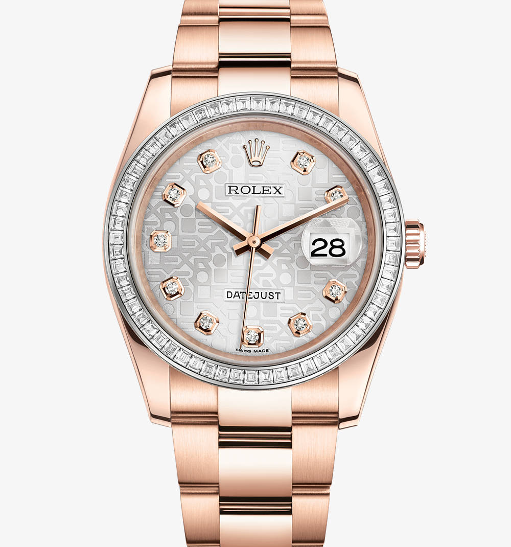 Replica Rolex Datejust 36 mm Watch: 18 ct Everose gold – M116285BBR-0008 [f4bc]
