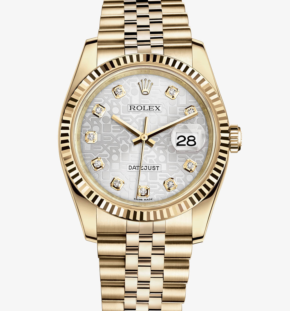 Replica Rolex Datejust 36 mm Watch: 18 ct yellow gold – M116238-0069 [6ce7]
