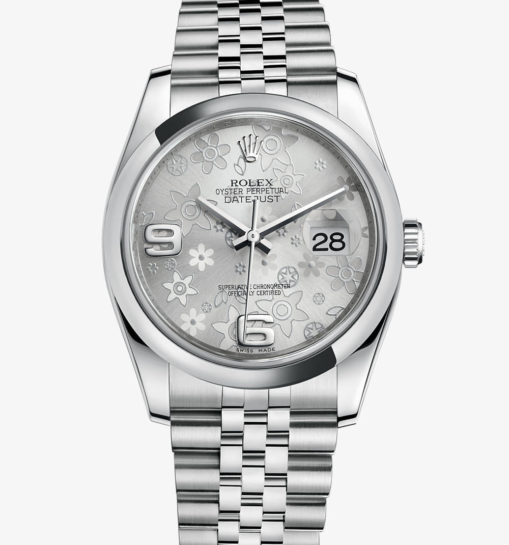 Replica Rolex Datejust 36 mm Watch: 904L steel – M116200-0085 [89a7]