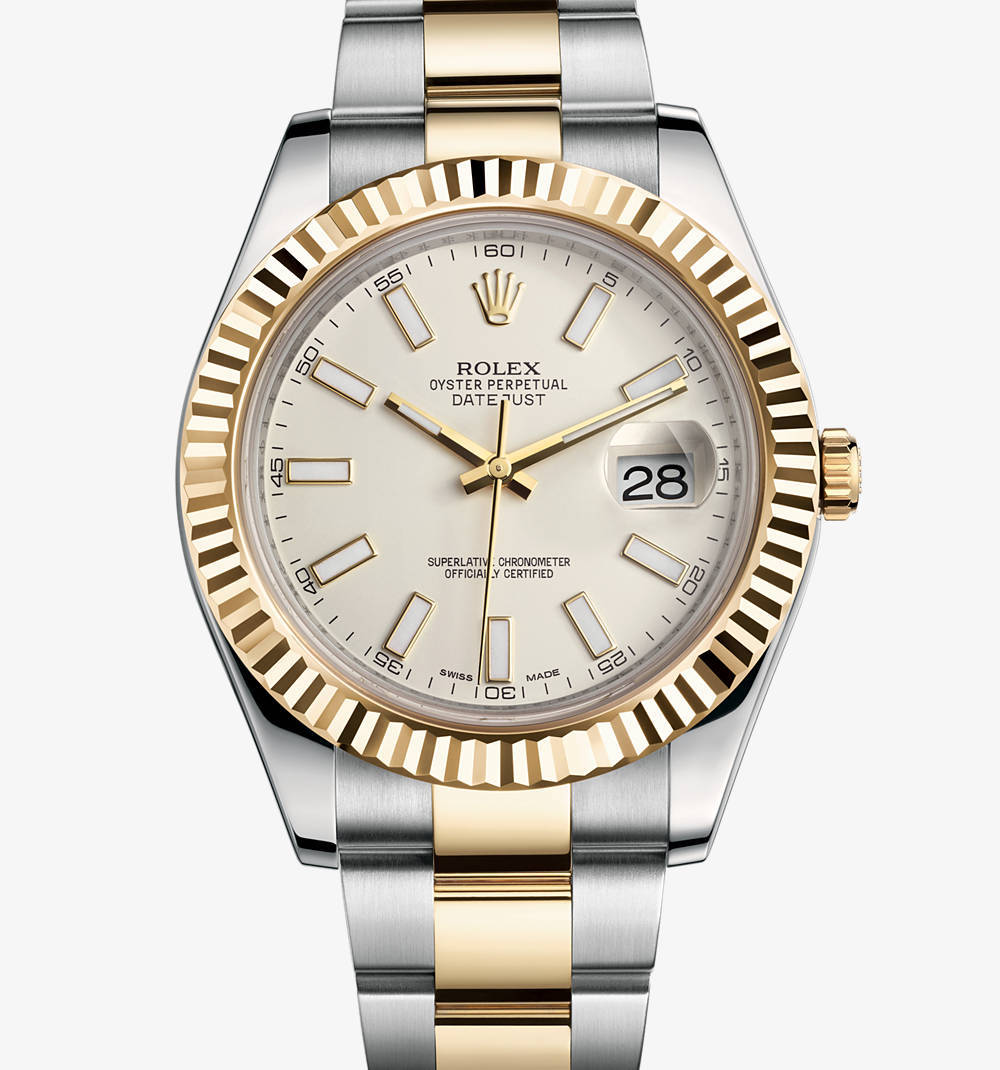 Replica Rolex Datejust II Watch: Yellow Rolesor - combination of 904L steel and 18 ct yellow gold – M116333-0005 [59e6]