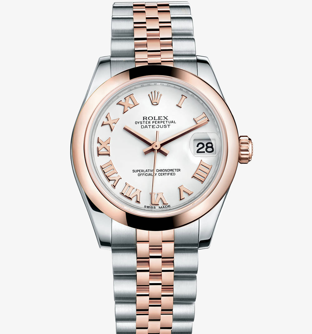 Replica Rolex Datejust Lady 31 Watch: Everose Rolesor - combination of 904L steel and 18 ct Everose gold – M178241-0062 [f2ef]