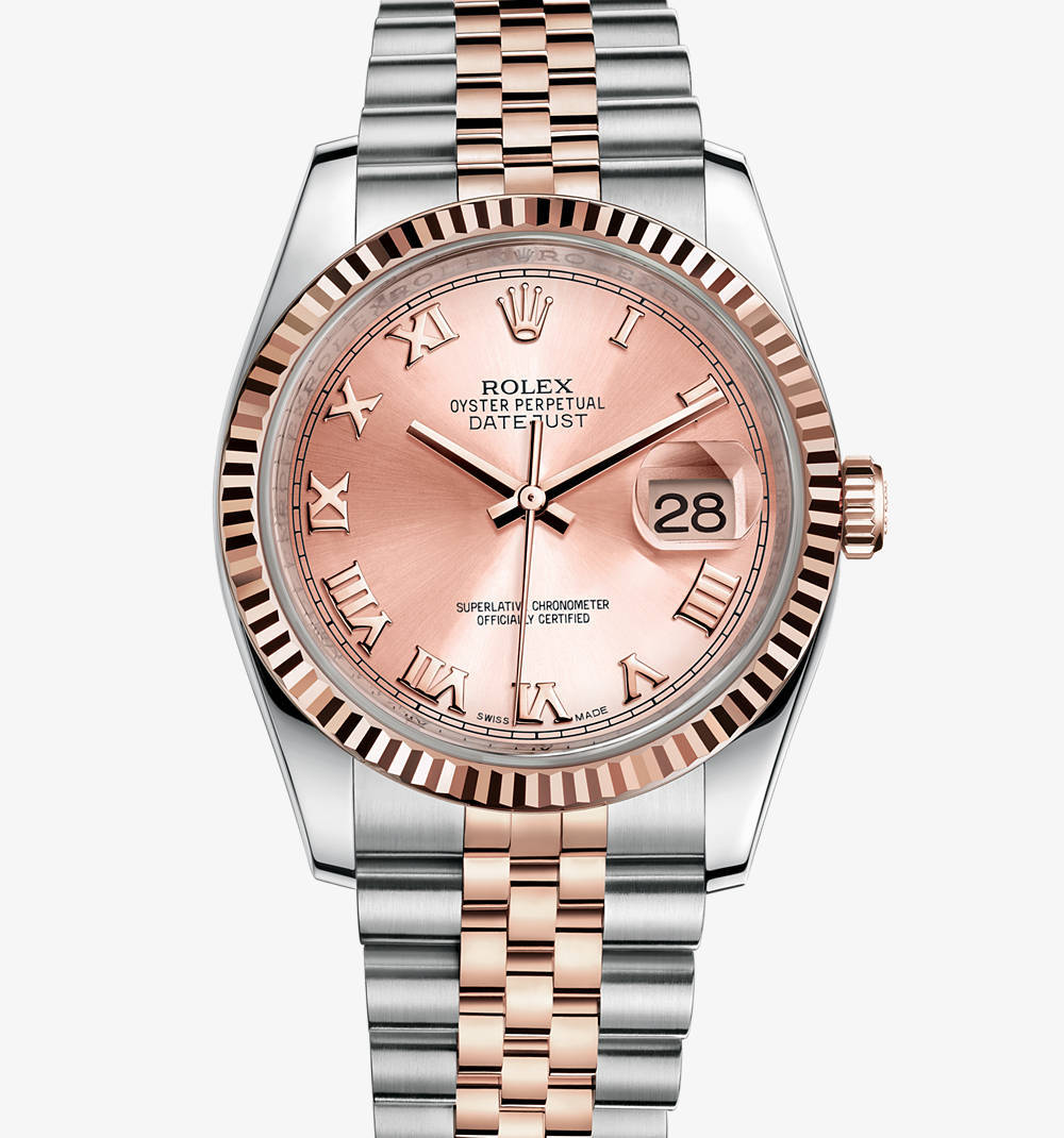 Replica Rolex Datejust Watch: Everose Rolesor - combination of 904L steel and 18 ct Everose gold – M116231-0089 [a21e]