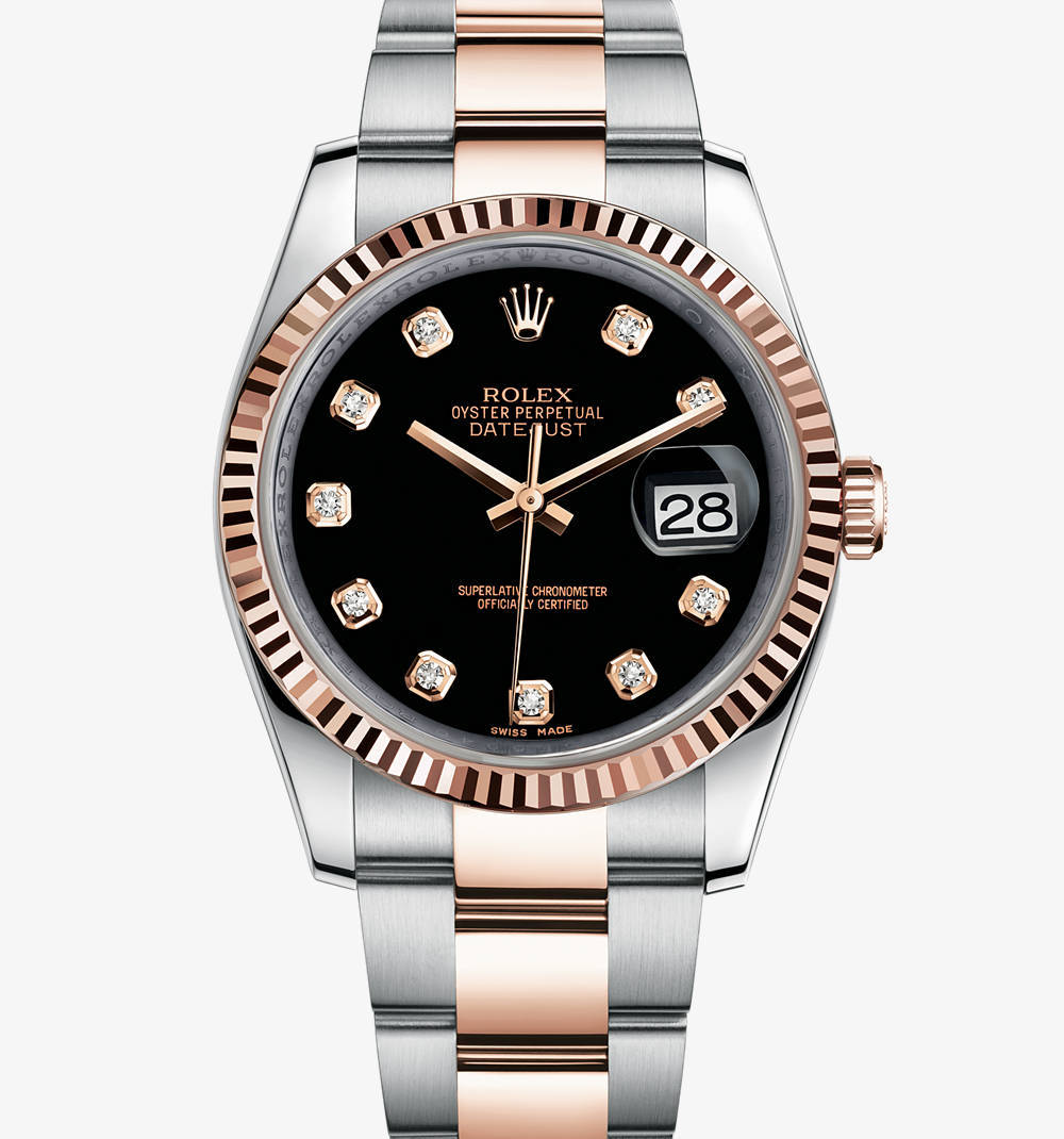 Replica Rolex Datejust Watch: Everose Rolesor - combination of 904L steel and 18 ct Everose gold – M116231-0071 [5eab]