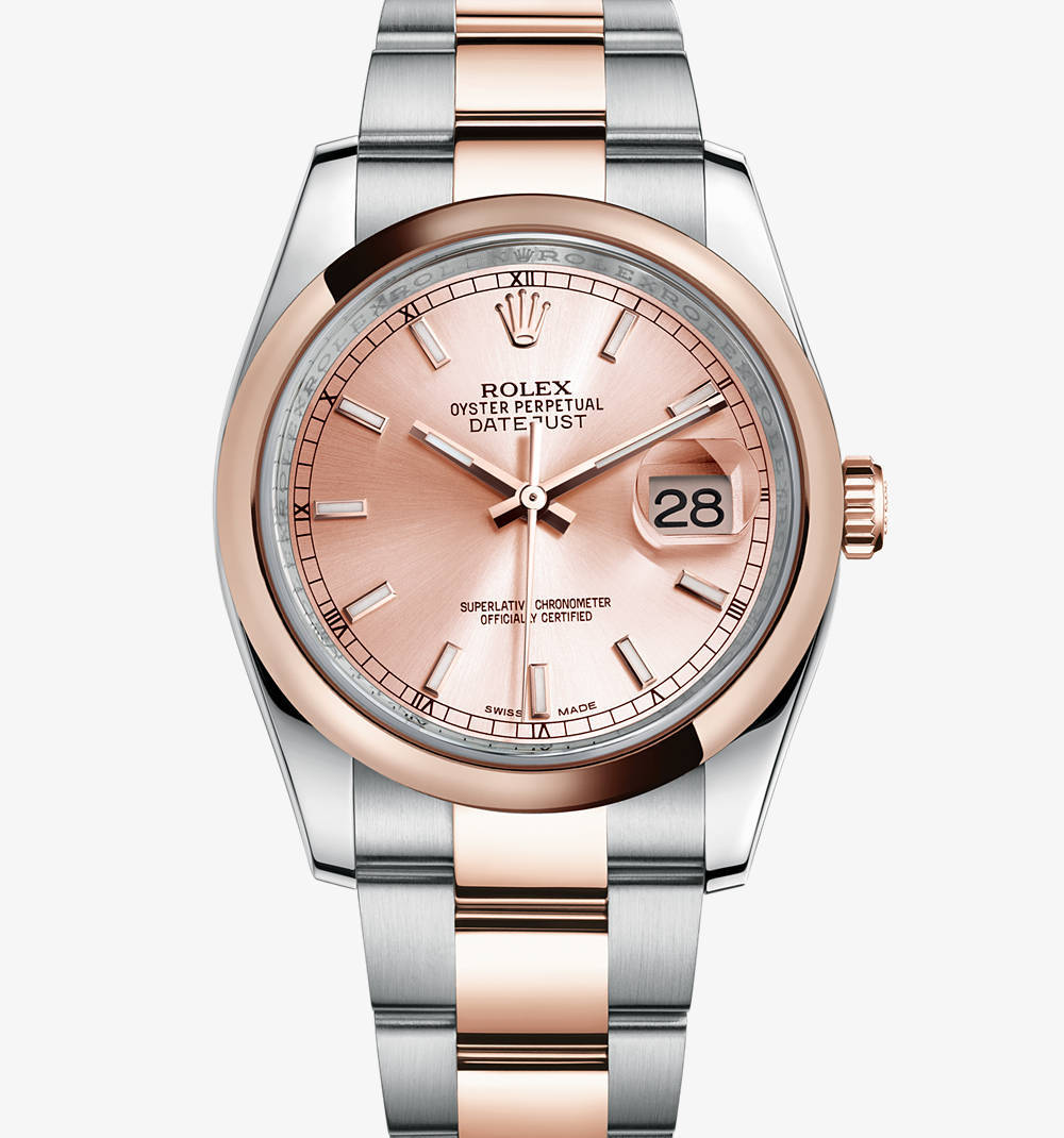 Replica Rolex Datejust Watch: Everose Rolesor - combination of 904L steel and 18 ct Everose gold – M116201-0059 [3424]