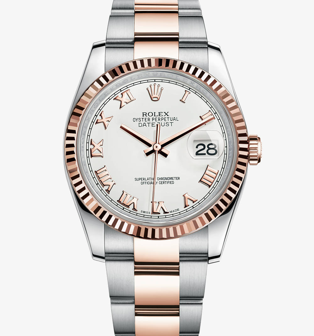 Replica Rolex Datejust Watch: Everose Rolesor - combination of 904L steel and 18 ct Everose gold – M116231-0092 [f25b]