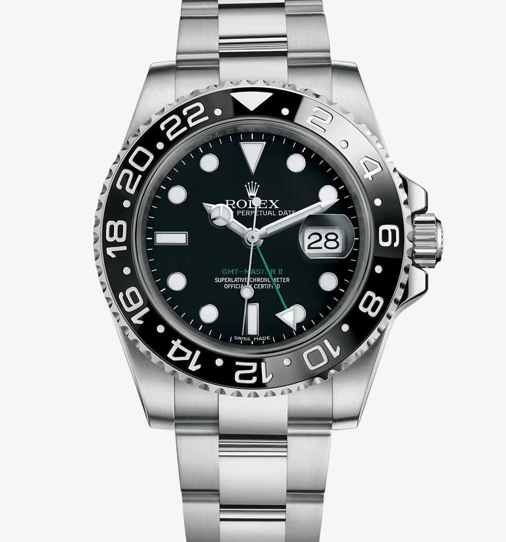 Replica Rolex GMT-Master II Watch: 904L steel – M116710LN-0001 [56fd]