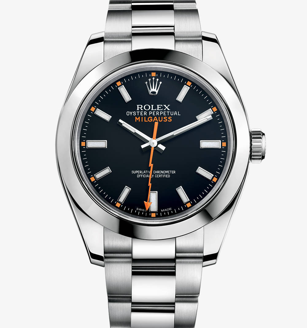 Replica Rolex Milgauss Watch: 904L steel – M116400-0001 [abb7]