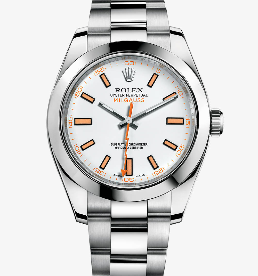 Replica Rolex Milgauss Watch: 904L steel – M116400-0002 [8bc8]