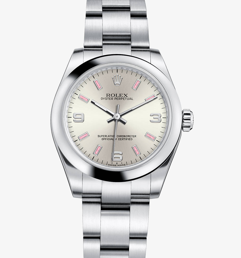 Replica Rolex Oyster Perpetual 31 mm Watch: 904L steel – M177200-0009 [ec31]