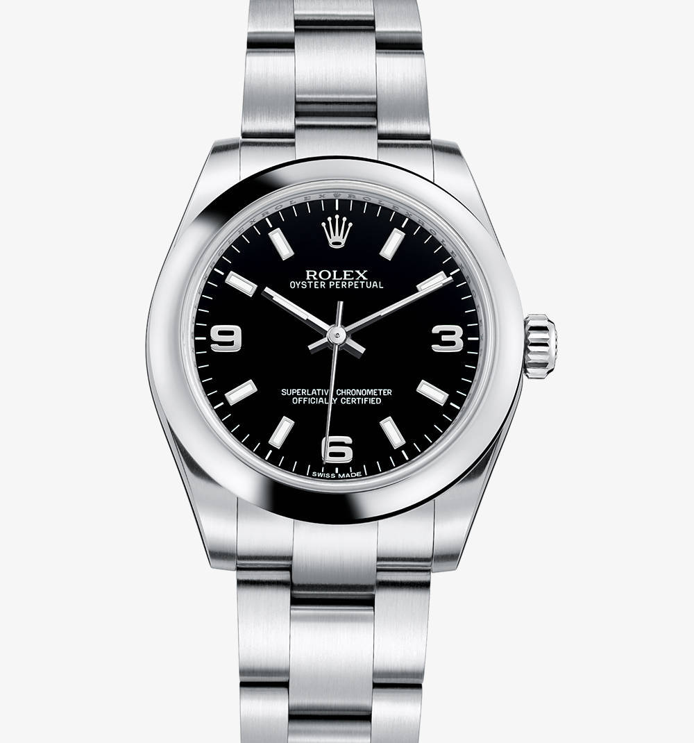 Replica Rolex Oyster Perpetual 31 mm Watch: 904L steel – M177200-0004 [2e74]