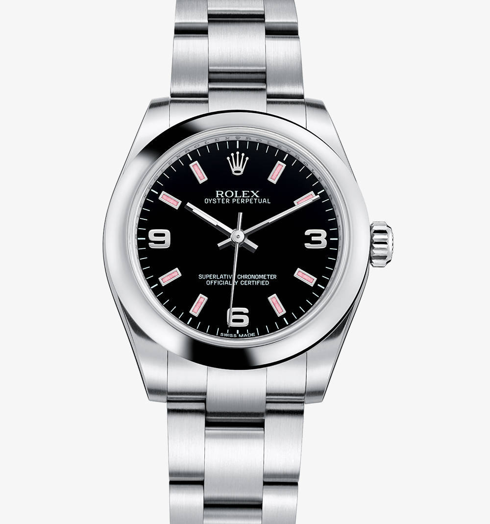 Replica Rolex Oyster Perpetual 31 mm Watch: 904L steel – M177200-0007 [c9b5]