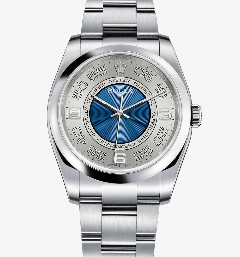 Replica Rolex Oyster Perpetual Watch: 904L steel – M116000-0004 [81a3]