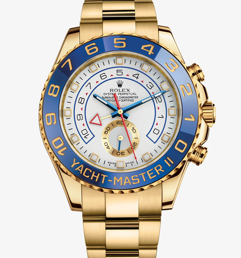 Rolex Yacht-Master II Watch: oro giallo 18 ct - M116688-0001 [e319]
