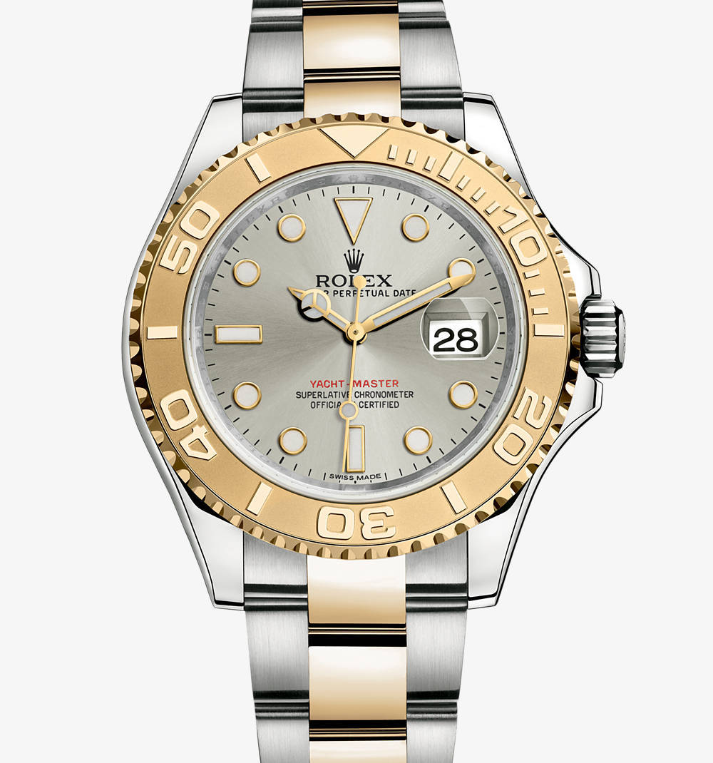 Replica Rolex Yacht-Master Watch: Yellow Rolesor - combination of 904L steel and 18 ct yellow gold – M16623-0008 [bb71]