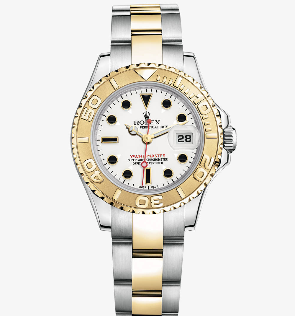 Replica Rolex Yacht-Master Watch: Yellow Rolesor - combination of 904L steel and 18 ct yellow gold – M169623-0007 [3618]