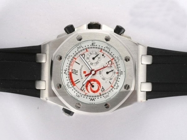 Fancy Audemars Piguet Royal Oak Chronograph Automatic with White AAA Watches [Q6H1]