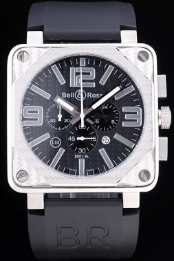 Cool Bell & Ross BR 01-92 Carbon AAA Watches [X7W1]