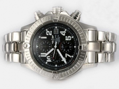 Great Breitling Skyland Avenger V2 Automatic Black-Same Chassis As 7750 Movement AAA Watches [C1K1]