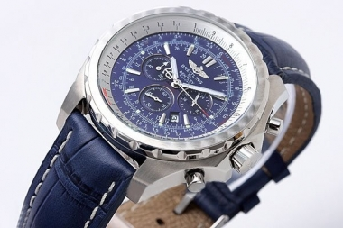 Vintage Breitling For Bentley Chronograph Quartz Movement with Blue Dial AAA Watches [R8W6]