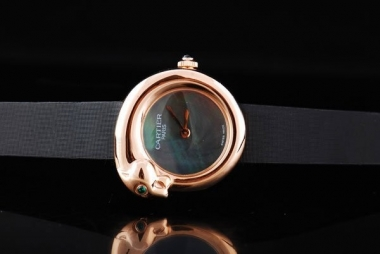 Cool Cartier Classic Quartz Movement with MOP Dial and Rose Gold Case AAA Watches [Q5D2]