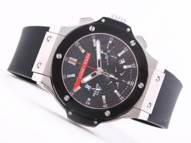 Cool Hublot Big Bang Luna Rosa Chronograph Asia Valjoux 7750 Movement AAA Watches [E2P4]