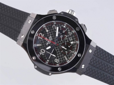 Quintessential Hublot Big Bang Chronograph Asia Valjoux 7750 Movement PVD Case AAA Watches [W7A9]