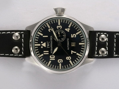 Cool IWC Big Pilot Automatic with Black Dial AAA Watches [W5I8]