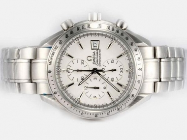 Modern Omega Speedmaster Date 3211.30.00 Working Chronograph Same Chassis as ETA 7750 Movement AAA Watches [H6O5]
