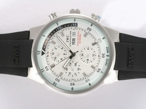 Cool IWC Aquatimer Chrono Cousteau duikers Automatic White Dial AAA Watches [H3X9]